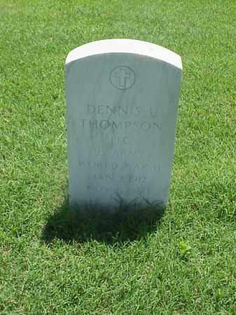 THOMPSON (VETERAN WWII), DENNIS L - Pulaski County, Arkansas   DENNIS L THOMPSON (VETERAN WWII) - Arkansas Gravestone Photos