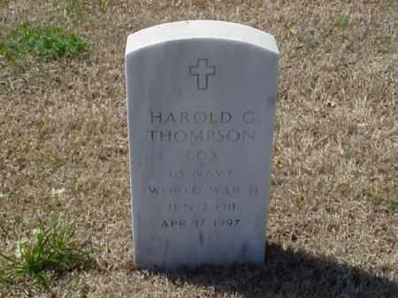 THOMPSON (VETERAN WWII), HAROLD G - Pulaski County, Arkansas | HAROLD G THOMPSON (VETERAN WWII) - Arkansas Gravestone Photos
