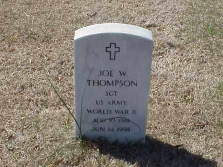 THOMPSON (VETERAN WWII), JOE W - Pulaski County, Arkansas | JOE W THOMPSON (VETERAN WWII) - Arkansas Gravestone Photos