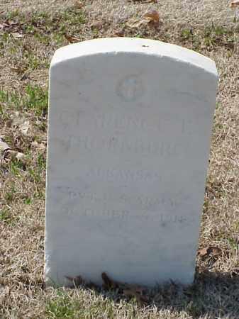 THORNBURG (VETERAN UNION), CLARENCE E - Pulaski County, Arkansas | CLARENCE E THORNBURG (VETERAN UNION) - Arkansas Gravestone Photos