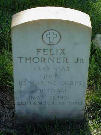 THORNER, JR (VETERAN VIET), FELIX - Pulaski County, Arkansas | FELIX THORNER, JR (VETERAN VIET) - Arkansas Gravestone Photos