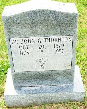 THORNTON, JOHN G. - Pulaski County, Arkansas   JOHN G. THORNTON - Arkansas Gravestone Photos