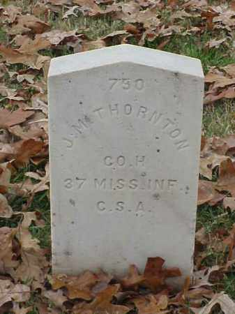 THORNTON (VETERAN CSA), J M - Pulaski County, Arkansas | J M THORNTON (VETERAN CSA) - Arkansas Gravestone Photos