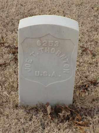 THORNTON (VETERAN), JOE T - Pulaski County, Arkansas | JOE T THORNTON (VETERAN) - Arkansas Gravestone Photos