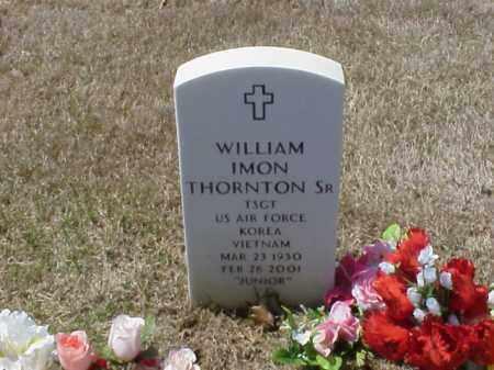 THORTON, SR  (VETERAN 2 WARS), WILLIAM IMON - Pulaski County, Arkansas   WILLIAM IMON THORTON, SR  (VETERAN 2 WARS) - Arkansas Gravestone Photos