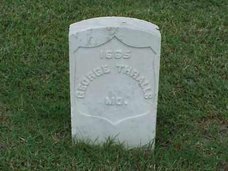 THRALLS (VETERAN UNION), GEORGE - Pulaski County, Arkansas | GEORGE THRALLS (VETERAN UNION) - Arkansas Gravestone Photos