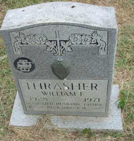 THRASHER, WILLIAM E. - Pulaski County, Arkansas | WILLIAM E. THRASHER - Arkansas Gravestone Photos