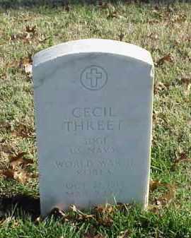 THREET (VETERAN 2 WARS), CECIL - Pulaski County, Arkansas | CECIL THREET (VETERAN 2 WARS) - Arkansas Gravestone Photos