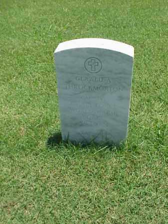 THROCKMORTON (VETERAN 3 WARS), GERALD A - Pulaski County, Arkansas   GERALD A THROCKMORTON (VETERAN 3 WARS) - Arkansas Gravestone Photos