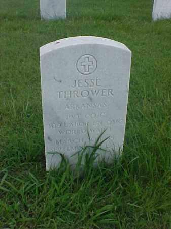 THROWER (VETERAN WWI), JESSE - Pulaski County, Arkansas   JESSE THROWER (VETERAN WWI) - Arkansas Gravestone Photos
