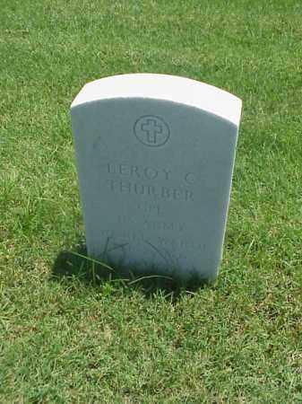 THURBER (VETERAN WWII), LEROY C - Pulaski County, Arkansas   LEROY C THURBER (VETERAN WWII) - Arkansas Gravestone Photos