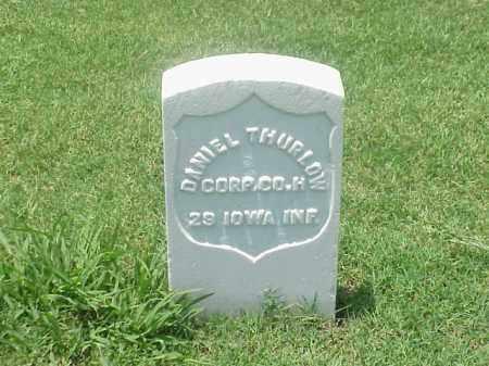 THURLOW (VETERAN UNION), DANIEL - Pulaski County, Arkansas   DANIEL THURLOW (VETERAN UNION) - Arkansas Gravestone Photos