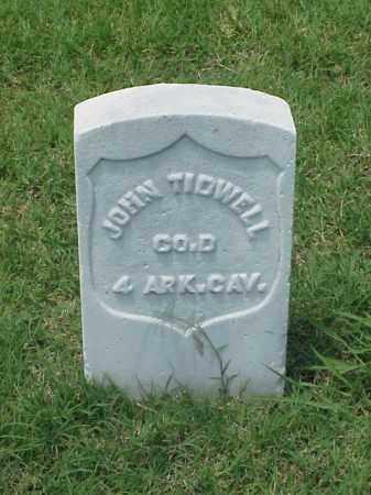 TIDWELL (VETERAN UNION), JOHN - Pulaski County, Arkansas   JOHN TIDWELL (VETERAN UNION) - Arkansas Gravestone Photos