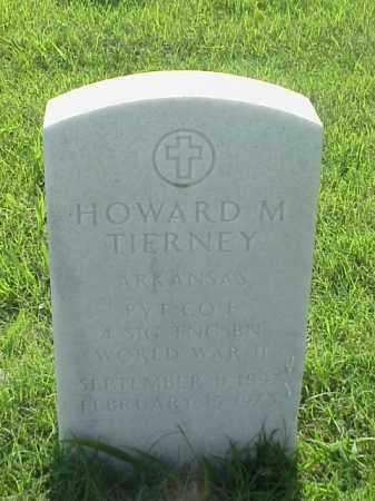 TIERNEY (VETERAN WWII), HOWARD M - Pulaski County, Arkansas | HOWARD M TIERNEY (VETERAN WWII) - Arkansas Gravestone Photos