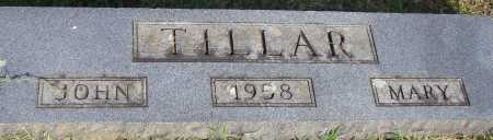 TILLAR, MARY - Pulaski County, Arkansas | MARY TILLAR - Arkansas Gravestone Photos