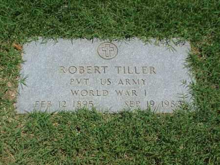 TILLER (VETERAN WWI), ROBERT - Pulaski County, Arkansas | ROBERT TILLER (VETERAN WWI) - Arkansas Gravestone Photos
