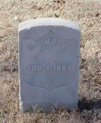 TIMOTHY (VETERAN UNION), C - Pulaski County, Arkansas | C TIMOTHY (VETERAN UNION) - Arkansas Gravestone Photos