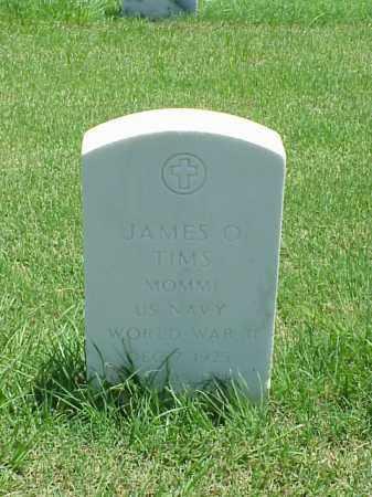 TIMS (VETERAN WWII), JAMES O - Pulaski County, Arkansas | JAMES O TIMS (VETERAN WWII) - Arkansas Gravestone Photos