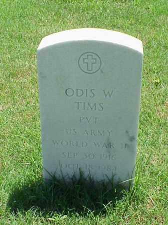 TIMS (VETERAN WWII), ODIS W - Pulaski County, Arkansas   ODIS W TIMS (VETERAN WWII) - Arkansas Gravestone Photos