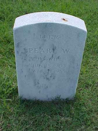 TINER, PEARL W - Pulaski County, Arkansas | PEARL W TINER - Arkansas Gravestone Photos