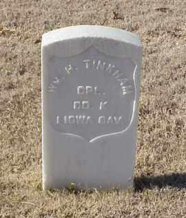 TINKHAM (VETERAN UNION), WILLIAM H - Pulaski County, Arkansas | WILLIAM H TINKHAM (VETERAN UNION) - Arkansas Gravestone Photos