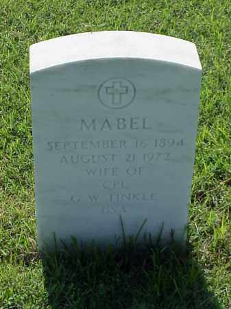 TINKLE, MABEL - Pulaski County, Arkansas | MABEL TINKLE - Arkansas Gravestone Photos