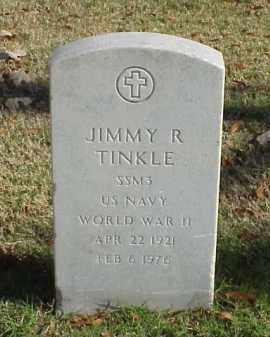 TINKLE (VETERAN WWII), JIMMY R - Pulaski County, Arkansas | JIMMY R TINKLE (VETERAN WWII) - Arkansas Gravestone Photos
