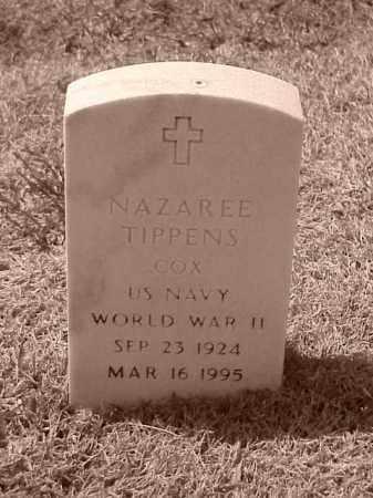 TIPPENS (VETERAN WWII), NAZAREE - Pulaski County, Arkansas | NAZAREE TIPPENS (VETERAN WWII) - Arkansas Gravestone Photos