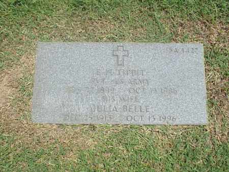 TIPPIT, JULIA BELLE - Pulaski County, Arkansas | JULIA BELLE TIPPIT - Arkansas Gravestone Photos