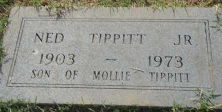 TIPPITT, JR., NED - Pulaski County, Arkansas | NED TIPPITT, JR. - Arkansas Gravestone Photos