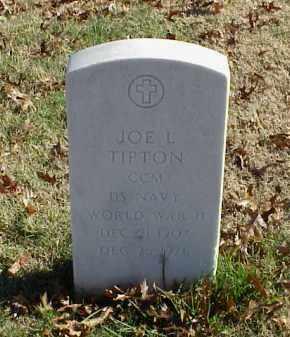 TIPTON (VETERAN WWII), JOE L - Pulaski County, Arkansas | JOE L TIPTON (VETERAN WWII) - Arkansas Gravestone Photos