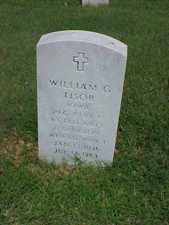 TISOR (VETERAN WWI), WILLIAM G - Pulaski County, Arkansas | WILLIAM G TISOR (VETERAN WWI) - Arkansas Gravestone Photos