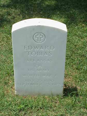 TOBIAS (VETERAN WWI), EDWARD - Pulaski County, Arkansas | EDWARD TOBIAS (VETERAN WWI) - Arkansas Gravestone Photos
