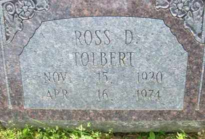 TOLBERT, ROSS D. - Pulaski County, Arkansas | ROSS D. TOLBERT - Arkansas Gravestone Photos