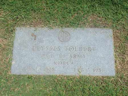 TOLBERT (VETERAN KOR), ULYSSES - Pulaski County, Arkansas   ULYSSES TOLBERT (VETERAN KOR) - Arkansas Gravestone Photos