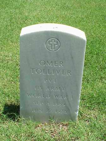 TOLLIVER (VETERAN WWI), OMER - Pulaski County, Arkansas | OMER TOLLIVER (VETERAN WWI) - Arkansas Gravestone Photos