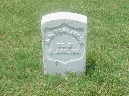 TOMLINSON (VETERAN UNION), J H - Pulaski County, Arkansas | J H TOMLINSON (VETERAN UNION) - Arkansas Gravestone Photos