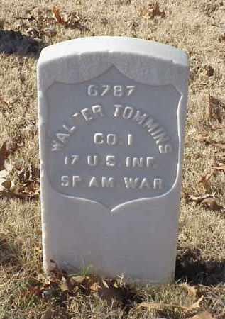 TOMMINS (VETERAN SAW), WALTER - Pulaski County, Arkansas | WALTER TOMMINS (VETERAN SAW) - Arkansas Gravestone Photos