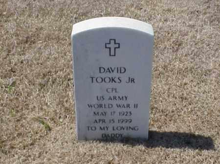 TOOKS, JR (VETERAN WWII), DAVID - Pulaski County, Arkansas | DAVID TOOKS, JR (VETERAN WWII) - Arkansas Gravestone Photos