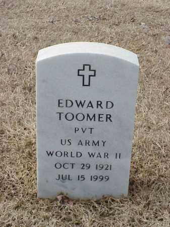 TOOMER  (VETERAN WWII), EDWARD - Pulaski County, Arkansas   EDWARD TOOMER  (VETERAN WWII) - Arkansas Gravestone Photos