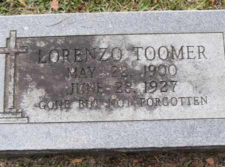 TOOMER, LORENZO - Pulaski County, Arkansas   LORENZO TOOMER - Arkansas Gravestone Photos