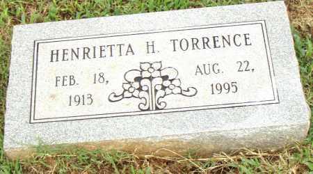 TORRENCE, HENRIETTA H. - Pulaski County, Arkansas   HENRIETTA H. TORRENCE - Arkansas Gravestone Photos