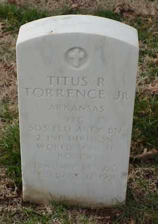 TORRENCE, JR (VETERAN 2 WARS), TITUS R - Pulaski County, Arkansas | TITUS R TORRENCE, JR (VETERAN 2 WARS) - Arkansas Gravestone Photos