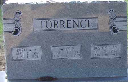 TORRENCE, NANCY P. - Pulaski County, Arkansas | NANCY P. TORRENCE - Arkansas Gravestone Photos