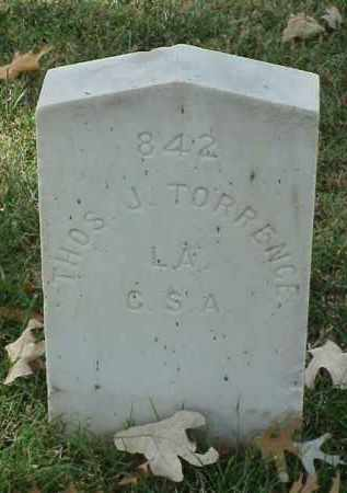 TORRENCE (VETERAN CSA), THOMAS J - Pulaski County, Arkansas | THOMAS J TORRENCE (VETERAN CSA) - Arkansas Gravestone Photos