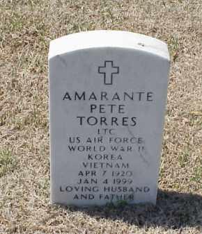 TORRES (VETERAN 3 WARS), AMARANTE PETE - Pulaski County, Arkansas | AMARANTE PETE TORRES (VETERAN 3 WARS) - Arkansas Gravestone Photos