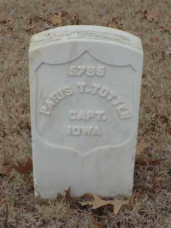 TOTTEN (VETERAN UNION), PARIS T - Pulaski County, Arkansas   PARIS T TOTTEN (VETERAN UNION) - Arkansas Gravestone Photos