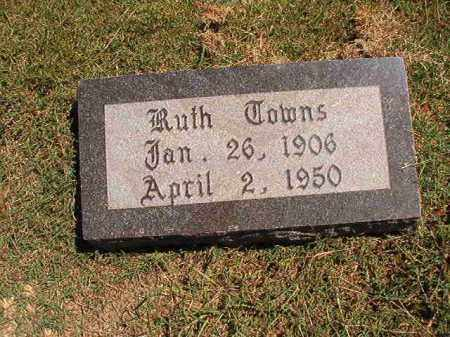 TOWNS, RUTH - Pulaski County, Arkansas   RUTH TOWNS - Arkansas Gravestone Photos