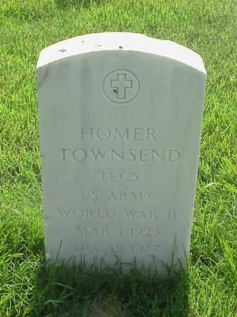 TOWNSEND (VETERAN WWII), HOMER - Pulaski County, Arkansas   HOMER TOWNSEND (VETERAN WWII) - Arkansas Gravestone Photos