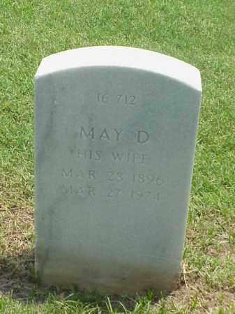 TRAFTON, MAY D - Pulaski County, Arkansas | MAY D TRAFTON - Arkansas Gravestone Photos